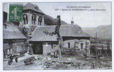 L'église Saint-Hilaire en 1935